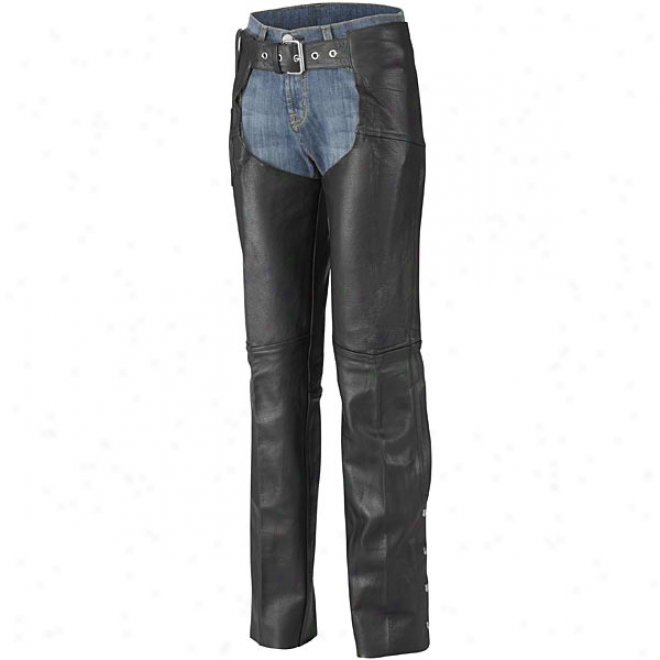 Womens Plain Motorcycle Chaps
