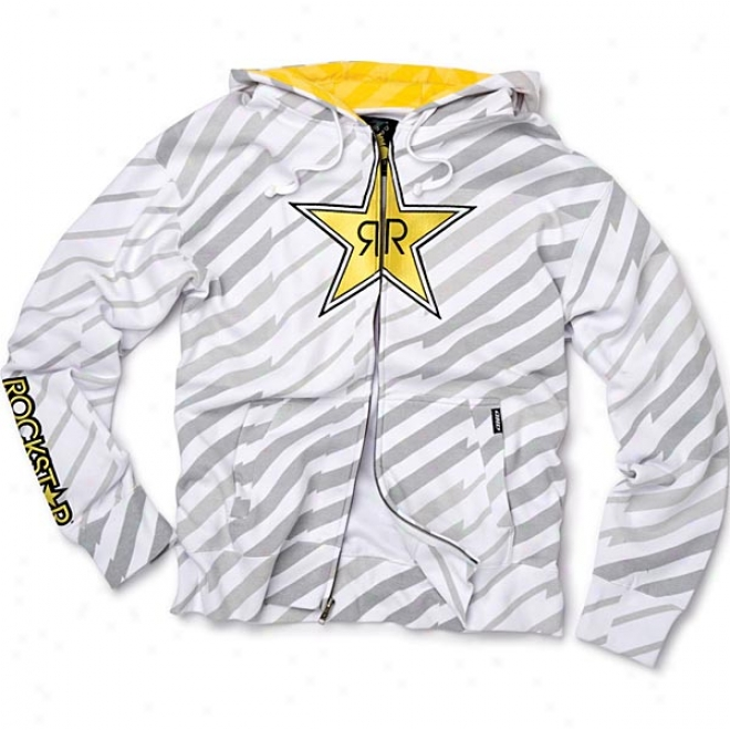 Womens Rockstar Plazmo Zip-up Hoody