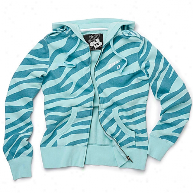 Womens Safari Zip-up Hoody