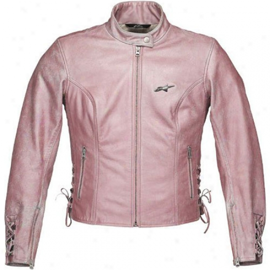 Womens Stella Corset Leather Jacket