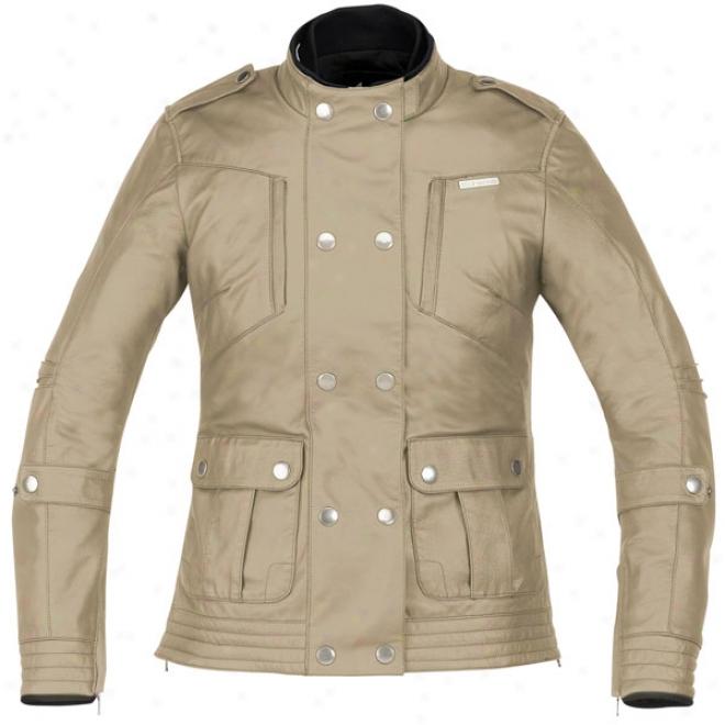 Womens Stella Lux Leather Jacket