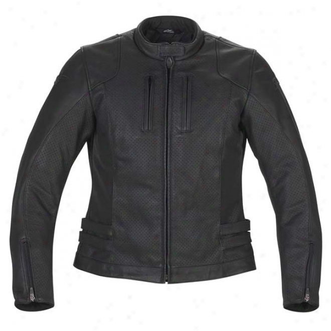 Womens Stella Nyc Leather Jacket