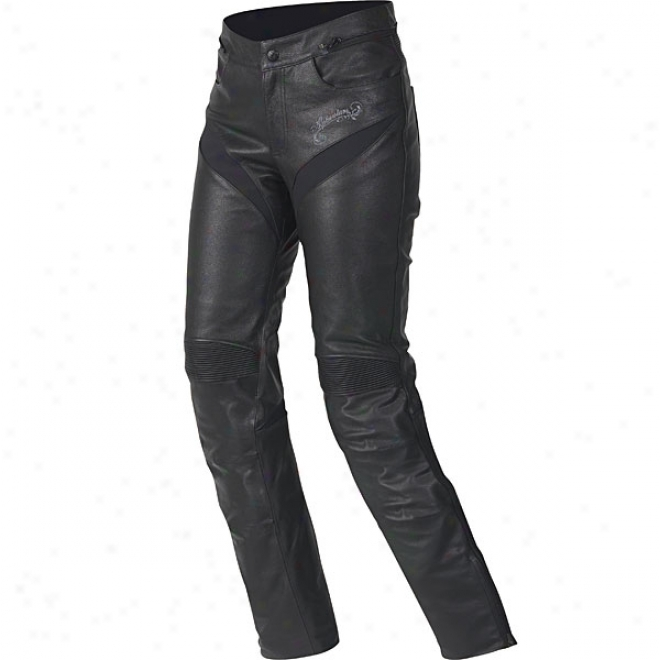 Womens Stella Tyla Leather Pants