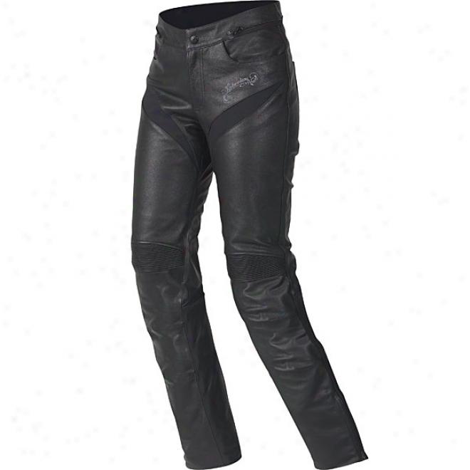 Womens Stella Tyla Leather Pants