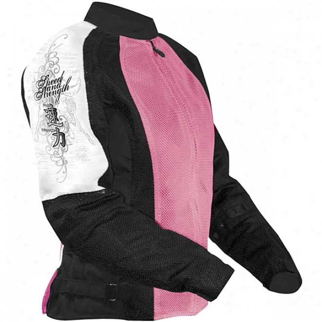Womens True Romance Mesh Jacket
