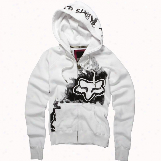 Womens Truth Or Brave Foxy Zip Hoody