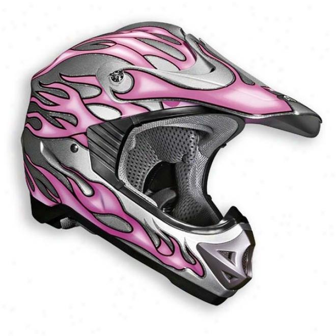 Womens Viper Flame Helmet