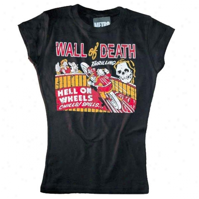 Womens Wall Of D3ath T-shirt