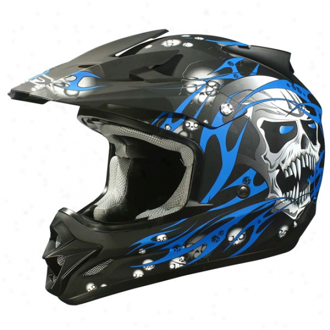 Youth Fx-18y Skull Helmet