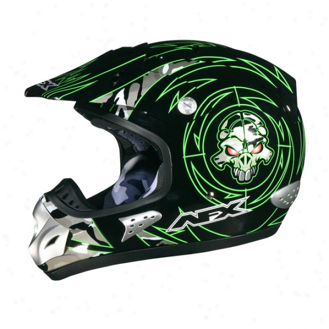 Young men Fx-35y Skull Helmet