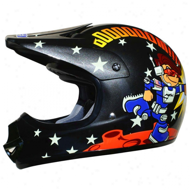 Youth Fx-86ry Rocketboy Helmet