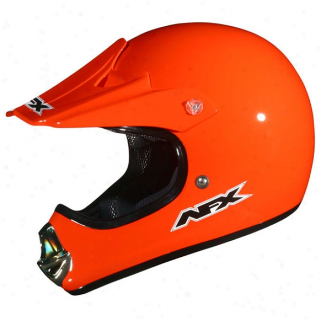Youth Fx-86ry Solid Helmet
