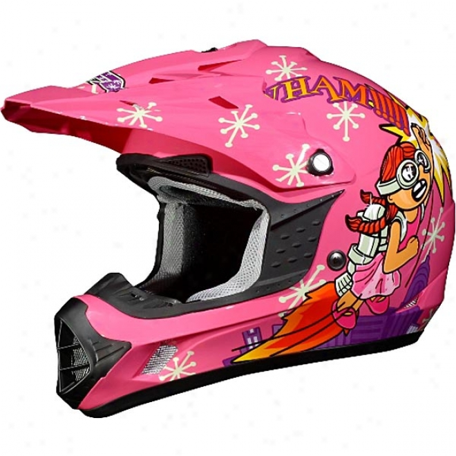 Youth Girls Fx-17y Rocket Helmet