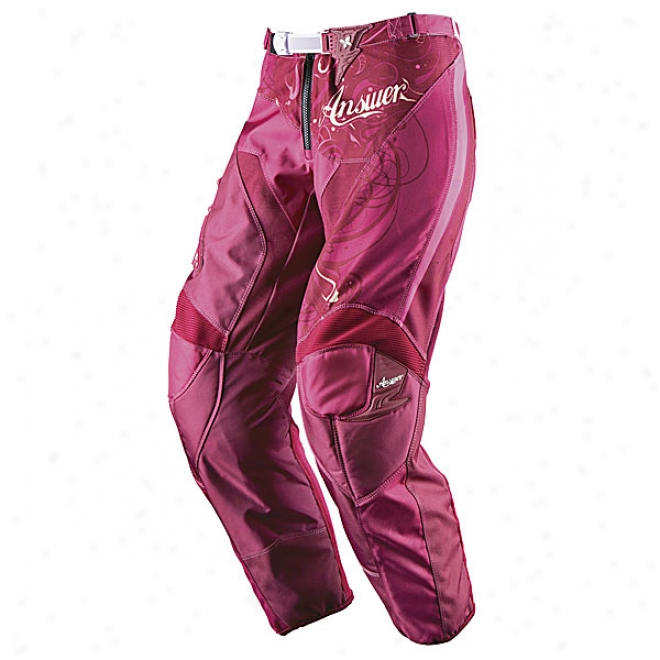 Youth Girls Wmx Pants - 2009