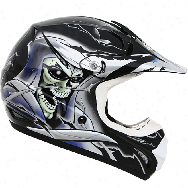 Youth Gm46y Special Editio nSkull Helmet