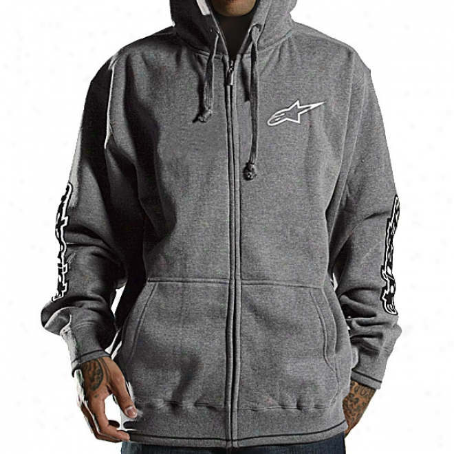 Youth Spelled Out Zip-up Hoody
