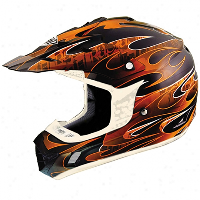 Youth Tx-12 Flame Helmet