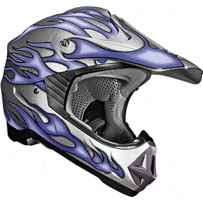 Youth Viper Jr. Flame Helmet