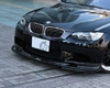 3d Design Carbon Fiber Front Lip Spoiler Set Bmw 3 Series E90 E92 M3 06+