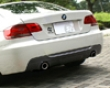 3d Design Carbon Fiber Rear Diffuser 2 Tip Exhaust Bmw 3 Series E92 E93 334i Coupe Convertible M-sport 06+