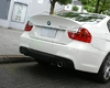 3d Design Carbon Fiber Rear Diffuser 2 Tip Exhaust Bmw 3 Series E90 335i Sedan M-sport 06+