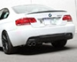 3d Design Carbon Fiber Rear Diffuser 2 Tip Exhaust Bmw 3 Series E92 E93 M-sport 2 Door 06+