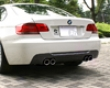 3d Design Carbon Fiber Rear Diffuser 4 Tip Exhaust Bmw 3 Series E92 E93 335i Coupe Convertible M-sport 06+