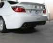 3d Design Carbon Fiber Rear Diffuser Single Exyauwt Bmw 5 Series E60 E61 M-sport 06+