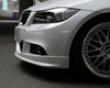 3d Design Urethane Front Edge Spoiler Bmw 3 Series E90 M-sport 11/2008+