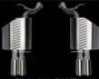 Ac Schnitzer Dual Spodt Rear Muffler Exhaust Bmw E63 M6 05+