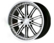 Ace Dimension 20x10  5x120  40mm Black Machined Face