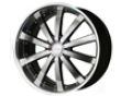 Ace Executive 20x8.5  5x114.3  35mm Black Machined Face