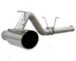 Afe Aluminum Dpf-back Exhaust Dodge Ram Cummins 1500 6.7l 07.5-08