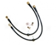 Agency Power Rear Brake Lines Mitsubishi Evo X 08+