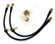 Agency Power Rear Brake Lines Subaru Wrx 08+