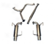 Agency Power Ss Catback Dual Exhaust System Subaru Wrx Sedan 2008+