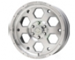 American Outlaw Colt 16x8  6x114.3  -6mm Silver