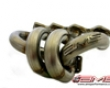 Ams T3/t4 Tubular Turbo Header Mitsubishi Evo Viii Ix 03-07