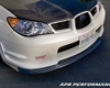 Apr Carbon Fiber Front Air Dam Subaru Wrx Sti 06+