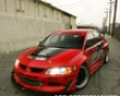 Apr Evil-r Wide Body Kit Mitsubishi Evo Viii Ix 03+