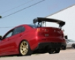 Apr Gtc-300 Adjustable Carbon Wing Mitsubishi Evo X 08+