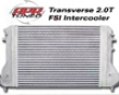 Apr Tuned Intercooler Kit Audi A3 2.0t Fsi 06-08