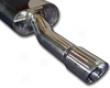 Apr Tuned Stainless Steel 3 Inch Catback Exhaust Volkawagen Jetta Gli 04-05