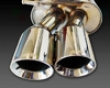 Apr Tuned Stainless Steel Full Exhaust System Audi S4 B7 4.2l 6spd 06-08