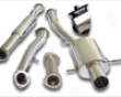 Aps 3 Ich Single Tip Turboback Exhaust Subaru Wrx/sti