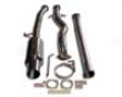 Aps Dr Series 3.5in Race Exhaust System Mitsubishi Evo