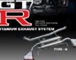 Arc Type G Titanium Exhaust System Nissan Skyline R35 Gtr 09+