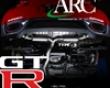 Arc Type S Titanium Exhaust System Nissan Skyline R35 Gtr 09+