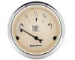 Autometer Antique Beige 2 1/16 Fuel Flush 0e/90f Gauge