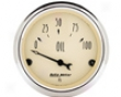 Autometer Antiquue Beige 2 1/16 Oil Pressure Gauge